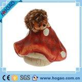 Cogumelo popular da resina da decoração do jardim de Polyresin do projeto