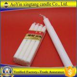 يجعل في الصين بيضاء بارافين عمود شمعة