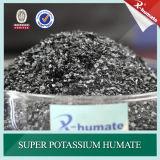 Potasio estupendo Humate de la serie de X-Humate H100 99.5% escamas brillantes