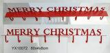 [إن71] [أستم] معياريّة خشبيّة عيد ميلاد المسيح جدار إشارة لوح معدنيّ