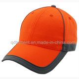 Casquette de baseball 100% au néon de sûreté de couleur de polyester r3fléchissant de bande (TMB0686)