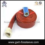 Sigle van de Koker van de brand Hydraulische Slang van de Vlecht van de Vezel van de Slang van de Hoge druk van de Olie de Bestand Rubber