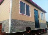 Painel de parede gravado isolado decorativo da fachada tapume exterior