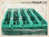 Carriles de protector de acero ajustables galvanizados para el andamio