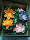 Plantas y flores artificiales de Lotus 10cm Gu-HS-Lotus003
