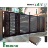 Panneau composé en bois de plastique du Decking WPC d'écran protecteur extérieur