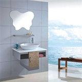 Armoires d'évier de salle de bain en acier inoxydable de nouvelle conception