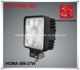5 luz de conducción de la luz LED del trabajo de la pulgada 27W LED LED campo a través para SUV