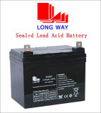 batterie d'acide de plomb scellée rechargeable de la lumière 12V35ah Emergency