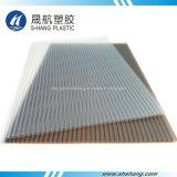 4 цвета заморозили лист поликарбоната полый с UV предохранением
