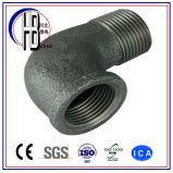 Conetor do encaixe de tubulação do cotovelo do aço inoxidável