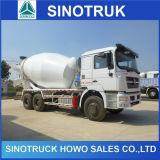 Caminhão do misturador concreto de Sinotruk HOWO 10wheeler 10 Cbm para a venda