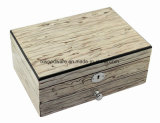 De nieuwe Houten Doos van de Gift van de Juwelen van het Vernisje Glanzende Houten Verpakkende