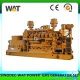 terraplén del generador del gas de la base de la mina de carbón del conjunto de generador de la biomasa 10kw-5MW