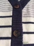 Cardigan lavorato a maglia Ture della banda dei capretti per i neonati - avere azione!