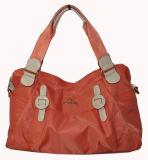 Сумки ткани с кожаный сумками ткани /Tote (BS12053)