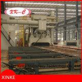 金属の鋼板の表面のためのローラーのベッドのショットブラスト機械