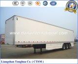 Heavy Duty Caja refrigerada térmica / Van Tipo Camión Semirremolque