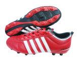 Chaussures artificielles plates du football de gazon de clou cassé