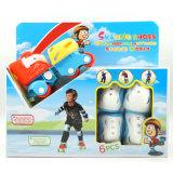 調節可能なローラースケートの靴の組合せのスポーツのおもちゃは子供のためにセットした