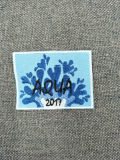 2017高品質の優れた刺繍の優秀な編まれたパッチ