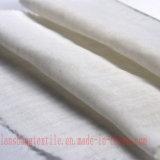 옷이 셔츠를 위한 35%Cotton 65%Polyester T/C 니트 직물에 의하여 다 탄다