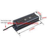 bloc d'alimentation de 12V10A DEL/lampe en aluminium/bande flexible IP67 imperméable à l'eau
