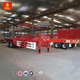 三車軸60トン40FTの容器のセミトレーラー
