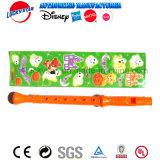 Stickersheet子供の昇進のためのプラスチック音楽おもちゃが付いているフルート
