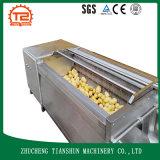 Máquina de la arandela del cepillo de la lavadora del rodillo del cepillo de la zanahoria de Potatao