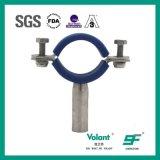 Hygienischer Edelstahl-runde Rohr-Halter-Rohrfittings