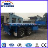 40 de 3axles Platfrom do recipiente da carga do caminhão pés de reboque de /Tractor