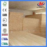 Il PVC Slatwall riveste la scheda di pannelli dei materiali da costruzione del MDF