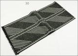 人のレディース男女兼用の可逆カシミヤ織の感じの冬の暖かい印刷の厚く編まれた編まれたスカーフ(SP821)