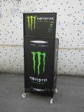 Crémaillère d'étalage de boissons en métal d'étage pour le supermarché