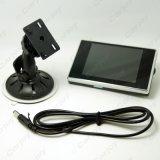moniteur de véhicule d'inverse de TFT LCD du pare-brise 3.5inch pour DVD/VCR/VCD