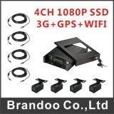 Камера автомобиля DVR набора 4CH автомобиля 1080P DVR H. 264 Mdvr 4CH