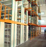 Estante del suelo del almacenaje con el compartimiento de almacenaje