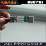 Papel térmico Faixa de RFID passiva UHF de longa duração para gerenciamento de ativos