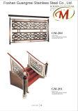Valla de alta calidad en acero inoxidable Escalera (GM-203)