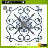 Dekoratives bearbeitetes Eisen-Blumen-Panel verwendet auf Eisen-Geländer oder Eisen-Gatter