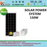 Sistema de energia solar sozinho 150W do carrinho com saída da C.A.