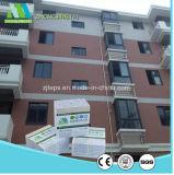 Система стены зеленого цвета панели Zjt экологическая конкретная для дома пляжа