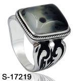 Disegni del commercio all'ingrosso della fabbrica dell'anello dell'uomo nuovi 925 anelli dell'argento sterlina