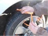 Plástico de travamento automático, ajustável, laço da cinta, dae (dispositivo automático de entrada) Emergency da tração do laço do fecho de correr para a neve/laço feito sob encomenda do aperto do fecho de correr