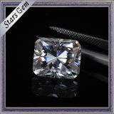 Super White Customized Cutting et taille Moissanite Stone pour bijoux