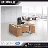 가벼운 호두 색깔 행정상 책상 매니저 책상 또는 테이블