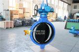 Elektro Van een flens voorzien Vleugelklep met Goedgekeurd Ce ISO Wras (D971X-10/16)