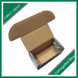 Productos de empaquetado impresos color de la caja de cartón acanalado