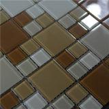 装飾的な建築材料のガラス芸術の浴室のモザイク壁のタイル